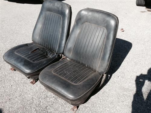 1967 - 1968 Camaro Front Bucket Seat Assemblies Set