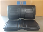 1969 Camaro Convertible Rear Seat Assembly, Original GM Used