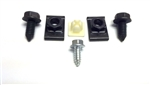 1969 Front License Plate Bracket Mounting Hardware Set