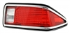 1974 - 1977 Camaro Tail Light Lens Assembly, Right Hand