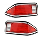 1974 - 1977 Tail Light Lense Assembly, PAIR