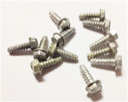 1967 - 1968 Tail Light Housing Screw Set, OE Style