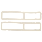 1967-1968 Tail Light Lens Gaskets - Foam Style - Pair