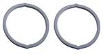 1970 - 1973 Park Light Lens Gaskets Set, Rally Sport, Pair