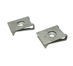 1993 - 2002 License Plate Light Mounting J-Clips Set, Pair