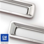 2010 - 2011 Camaro Reverse Light Bezels GM Licensed - Chrome