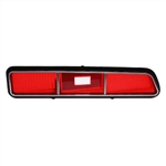 1969 Camaro Standard RH Tail Light Lens, Premium