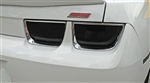 2010 - 2013 Blackout Covers Set, Tail Lights, Carbon Fiber / Smoke Finish, 4 Pieces