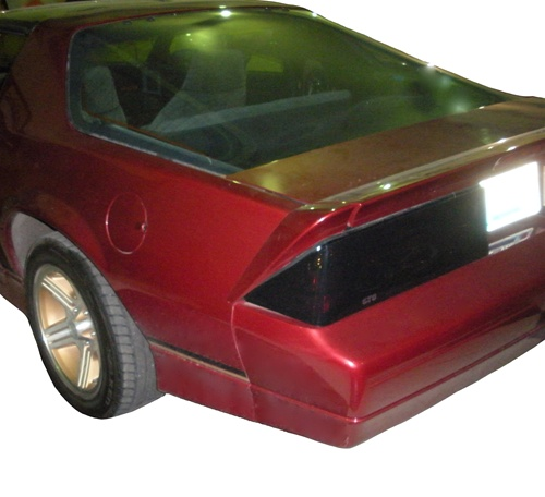 1982   1990 Camaro Blackout Covers Set, Tail Lights, STD, Z28 And Rally  Sport, Pair
