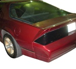 1985 - 1992 Camaro Blackout Tail Lights Covers Set, STD, Z28 and IROC-Z