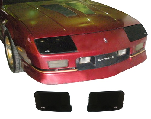 1988 - 1992 Blackout Covers Set, Headlights, Rally Sport, Pair