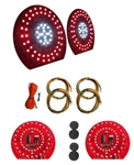 1970 - 1973 Tail Lights Kit With Reverse Lights, All Models, LED