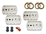 1978 - 1981 Tail Lights Kit, All Models, LED Digital Sequential