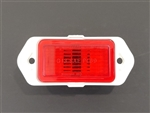 1969 Camaro Rear Side Marker Light Lens and Housing Assembly, Red Each