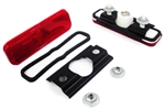 1970 - 1973 Camaro REAR Red Side Marker Light Lens and Housing Assemblies Set, USA Made
