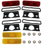 1970 - 1973 Camaro Marker Lights Kit, Front and Rear Sides