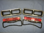 1968 Camaro Rally Sport Tail Lights Kit