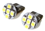 Ultra Bright WHITE LED Marker Light Bulb / Dash Light Bulb, Pair