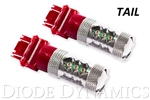 1998 - 2002 and 2010 - 2014 Camaro 3157 RED XP80 LED Turn / Tail Light Bulbs, PAIR
