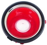 1970-1971 Back Up Light Lens, Standard