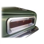 1967 Tail Light Bezels Set, Billet Aluminum, Pair