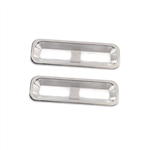 1968 Camaro Polished Billet Aluminum Tail Light Bezels, Pair