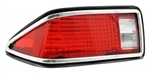 1974 - 1977 Camaro Tail Light Lens Assembly, Left Hand