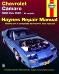 1982 - 1992 Chevrolet Camaro Haynes Repair Manual