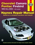 1993-2002 Chevrolet Camaro Haynes Repair Manual