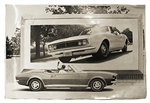 1967 GM Dealer Poster, Convertible and Hardtop