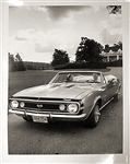 1967 GM Dealer Promo Poster, Super Sport Convertible, Black and White