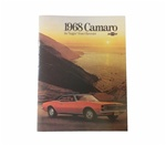1968 Camaro GM Dealer Showroom Sales Brochure