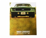 1969 Camaro GM Dealership Showroom Sales Brochure