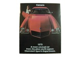 1970 GM Dealer Sales Brochure, Color