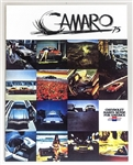 1975 Camaro Dealership Sales Brochure, Original GM NOS