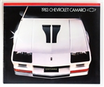 1983 Camaro Dealership Sales Brochure, Original GM NOS