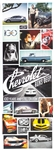 1978 Corvette Dealer Sales Show Room Brochure Poster, Original GM NOS