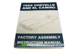 1966 Assembly Manual, Chevelle and El Camino