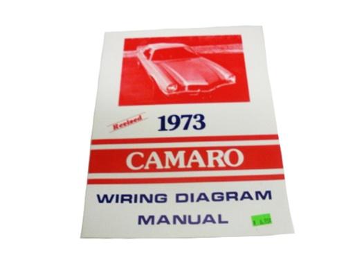 1973 Camaro Wiring Diagram Manual