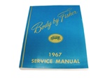 1967 Service Manual, Fisher Body