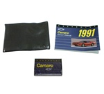 1991 Camaro Owners Manual Portfolio with Cassette Tape, NOS GM