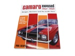 Camaro Exposed 1967 - 1969 Book By Paul Zazarine