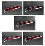 1969 Tail Light Lens Set, Billet Aluminum, Custom, Choice of Style