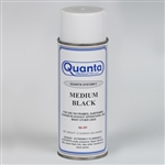 Quanta MEDIUM BLACK Spray Paint, 12 Ounce Can