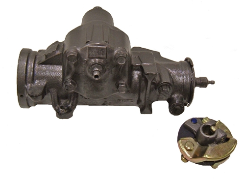 1964 - 1976 Power Steering Gear Box, GM New Updated Design, Fast Ratio 2 75  Turn