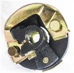 "1967 - 1976 Manual and Power Steering Rag Joint Coupler, 3-1/4"" OD, For 3/4"" 25 Spline Input Shafts with FLAT Spot"