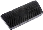 1982 - 1992 Camaro Automatic Transmission Brake Pedal Pad with Disc Brakes, Ribbed