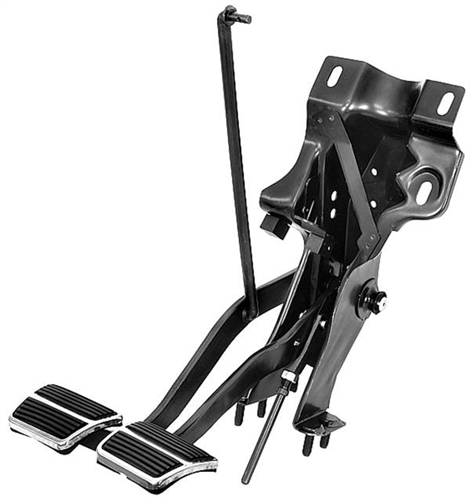 1967 1968 Camaro Clutch And Brake Pedal Assembly