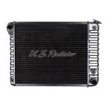 1970 - 1972 Radiator, Automatic, 3 Core, 21 Inch