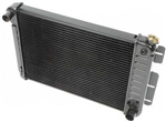 1967 - 1969 3 Core Row Camaro w/ Factory AC Small Block OE Style Radiator for Automatic, 23 Inch